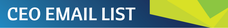 CEO Email List Header